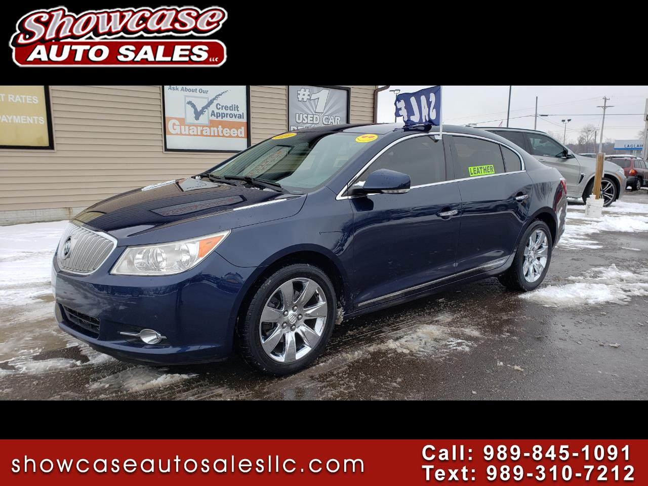 Buick LaCrosse 4dr Sdn CXL 3.0L FWD 2010