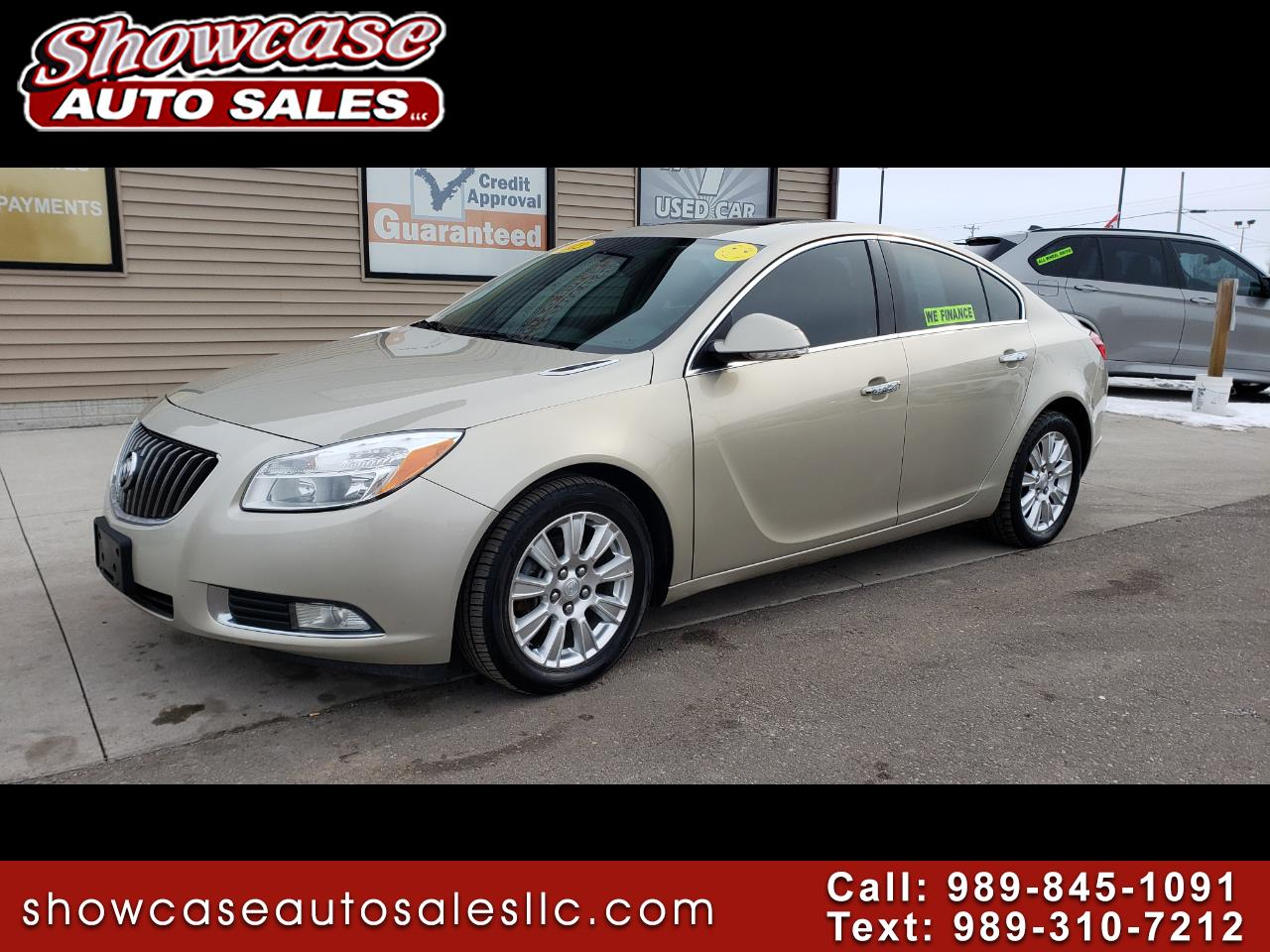 Buick Regal 4dr Sdn Base 2013
