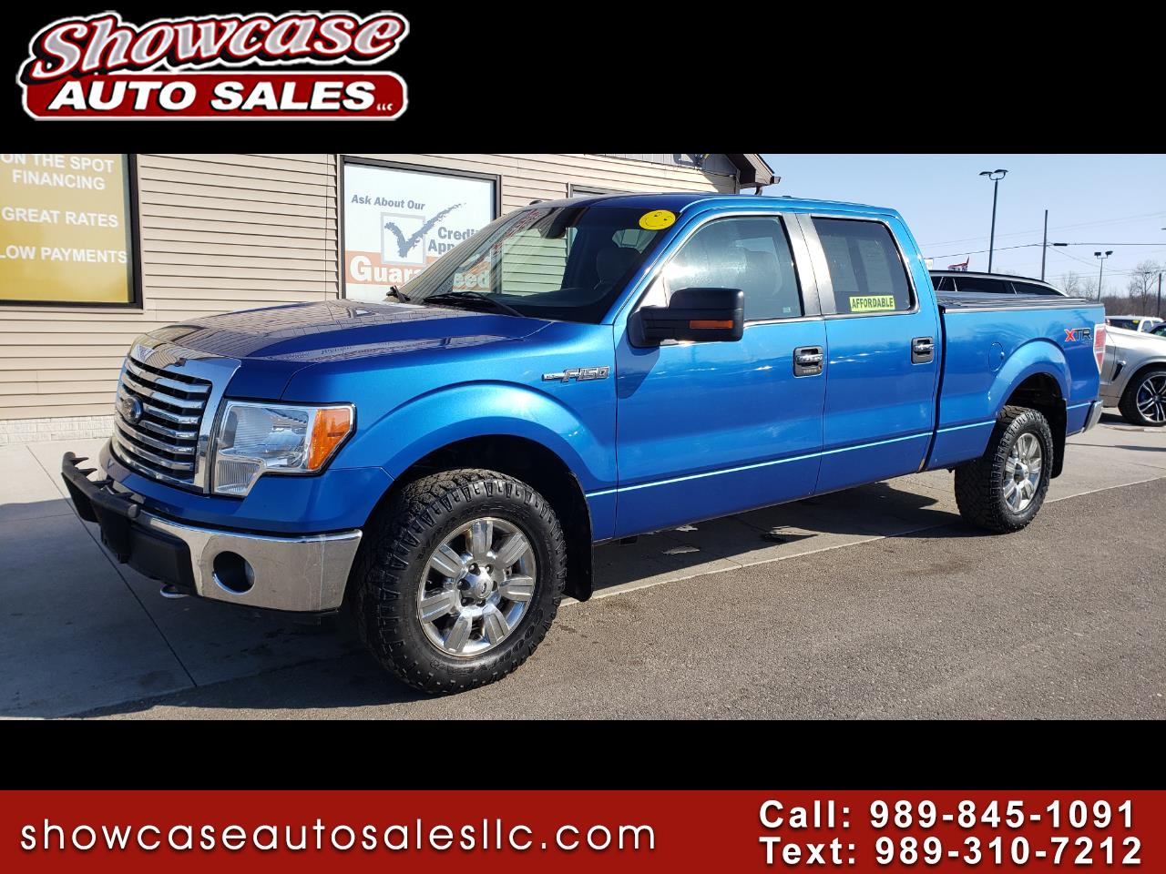 "Ford F-150 4WD SuperCrew 157"" XLT 2012"