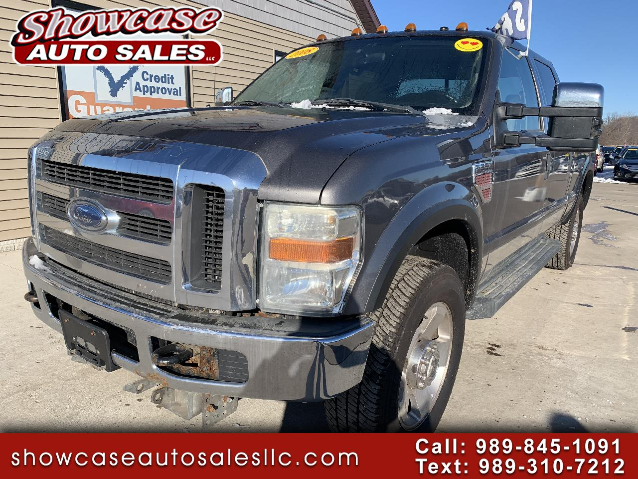 "Ford Super Duty F-250 SRW 4WD Crew Cab 172"" XL 2008"