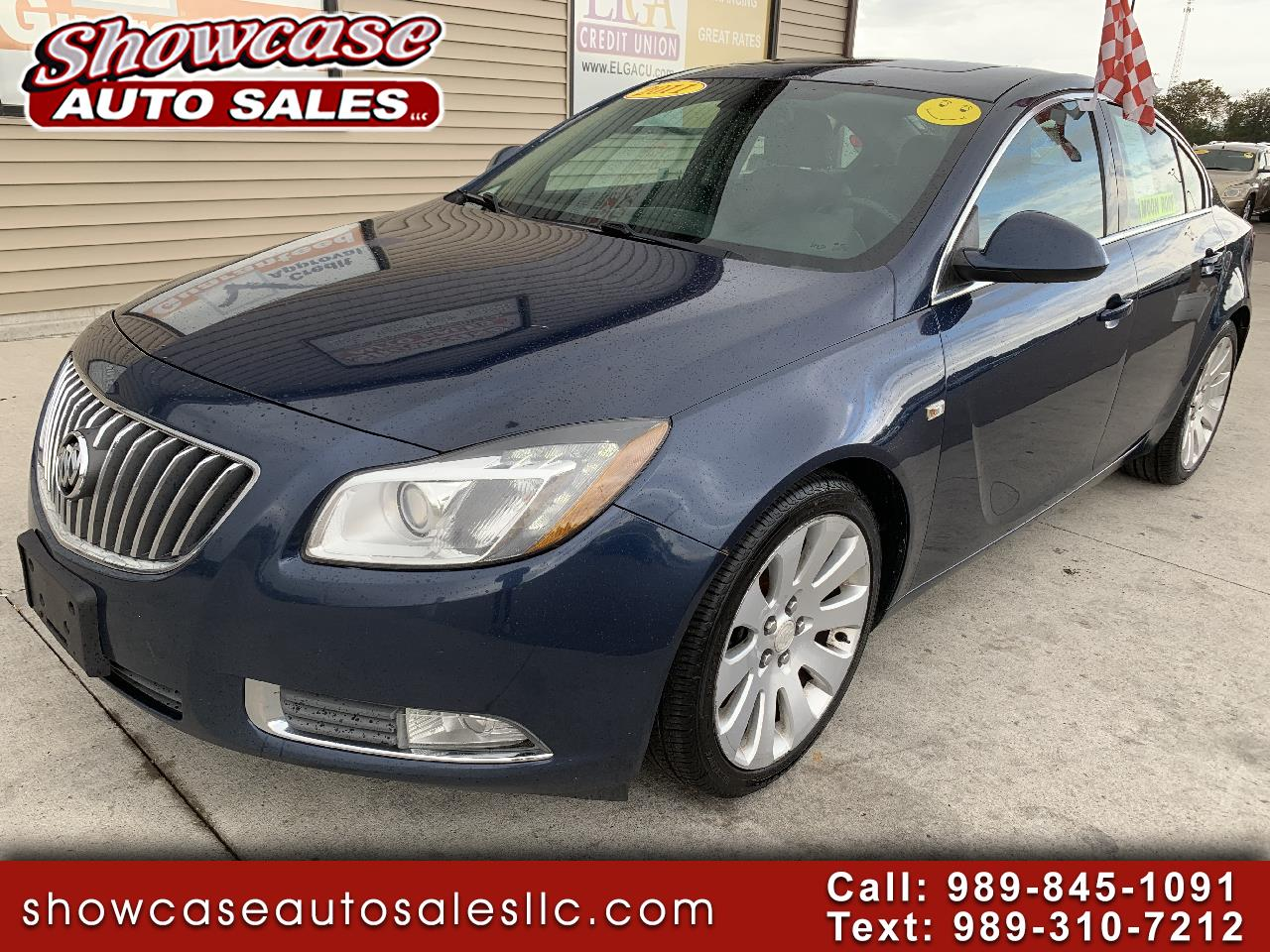 Buick Regal 4dr Sdn CXL Turbo TO6 (Russelsheim) *Ltd Avail* 2011