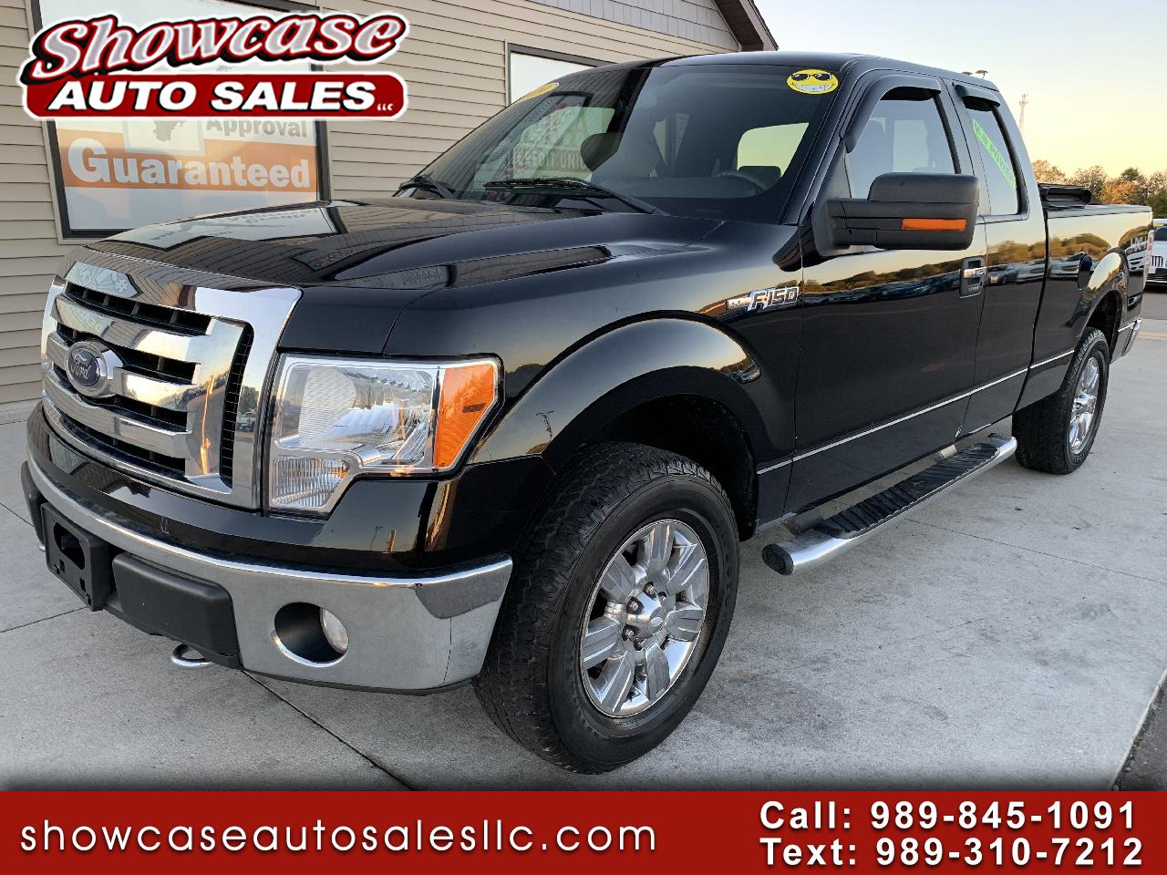 "Ford F-150 4WD SuperCab 145"" XLT 2009"