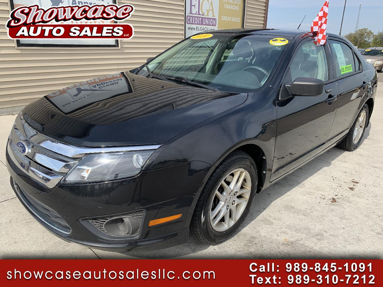 Ford Fusion 4dr Sdn S FWD 2010