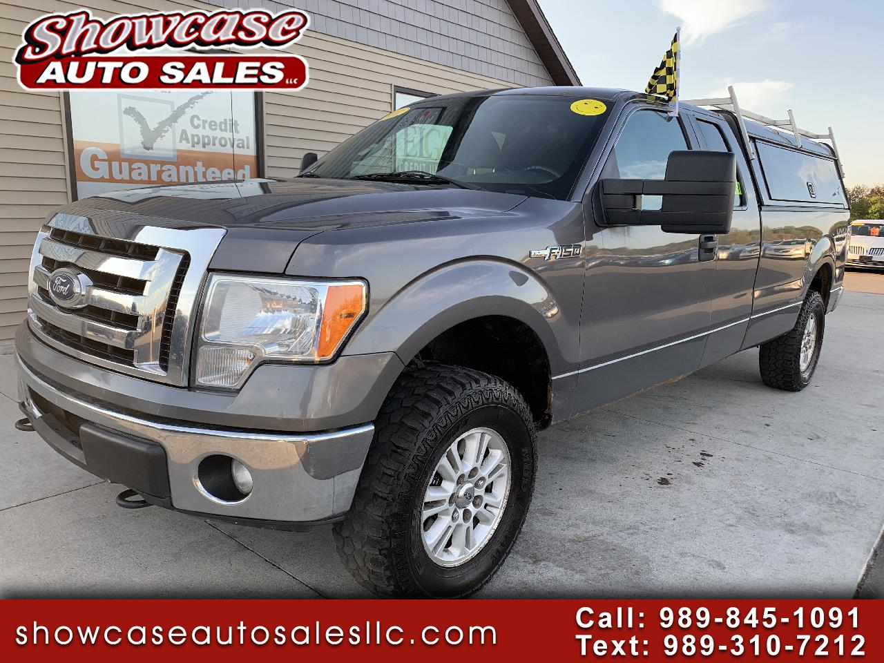 """Ford F-150 4WD SuperCab 163"""" XLT w/HD Payload Pkg 2011"""