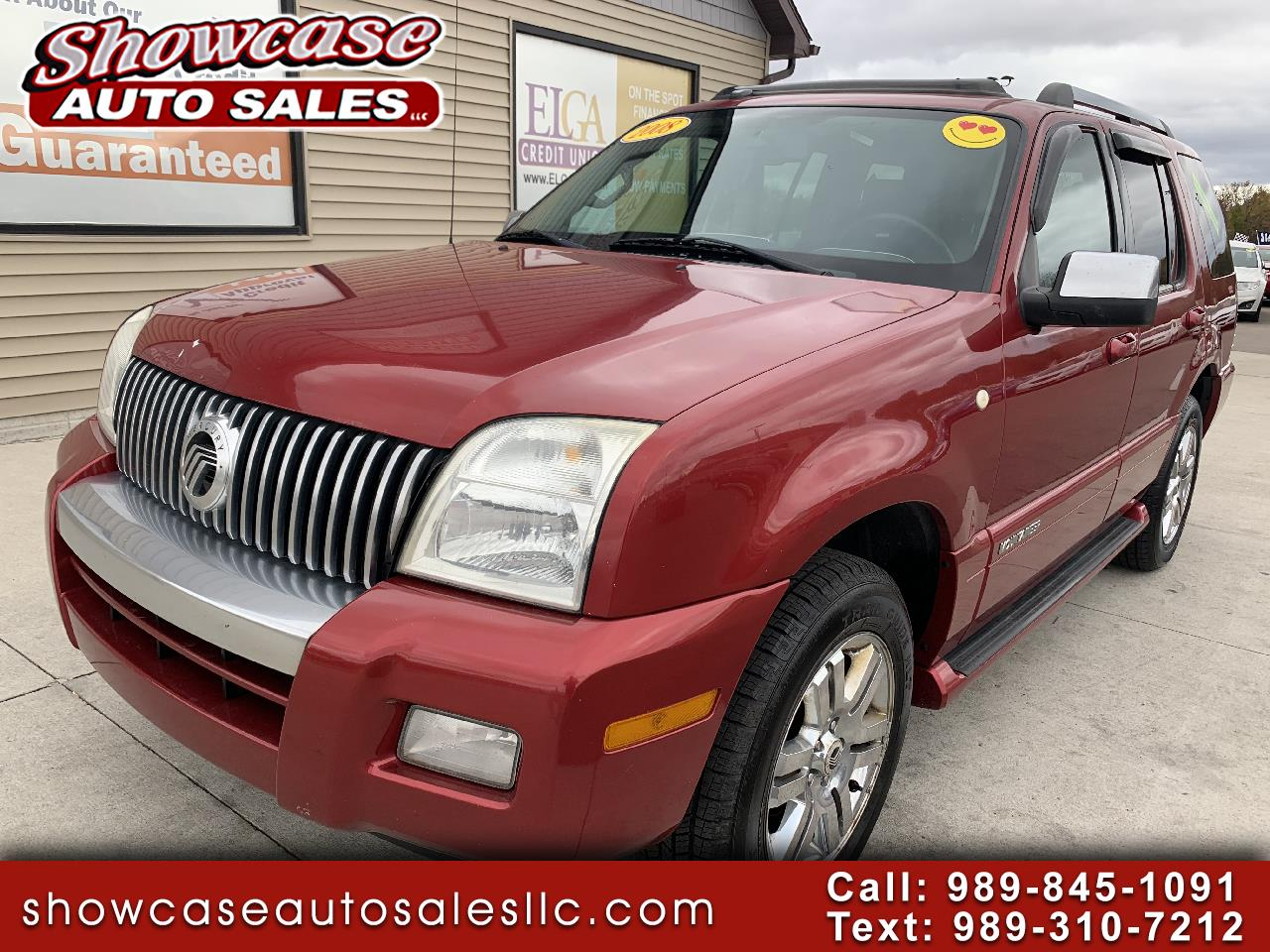 Mercury Mountaineer AWD 4dr V6 Premier 2008