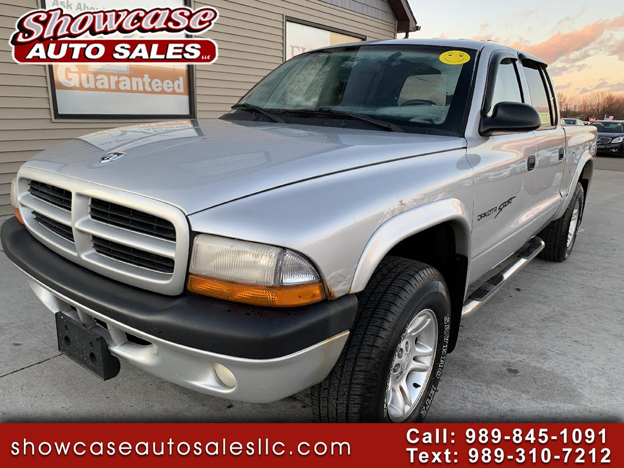 "Dodge Dakota Quad Cab 131"" WB 4WD Sport 2001"