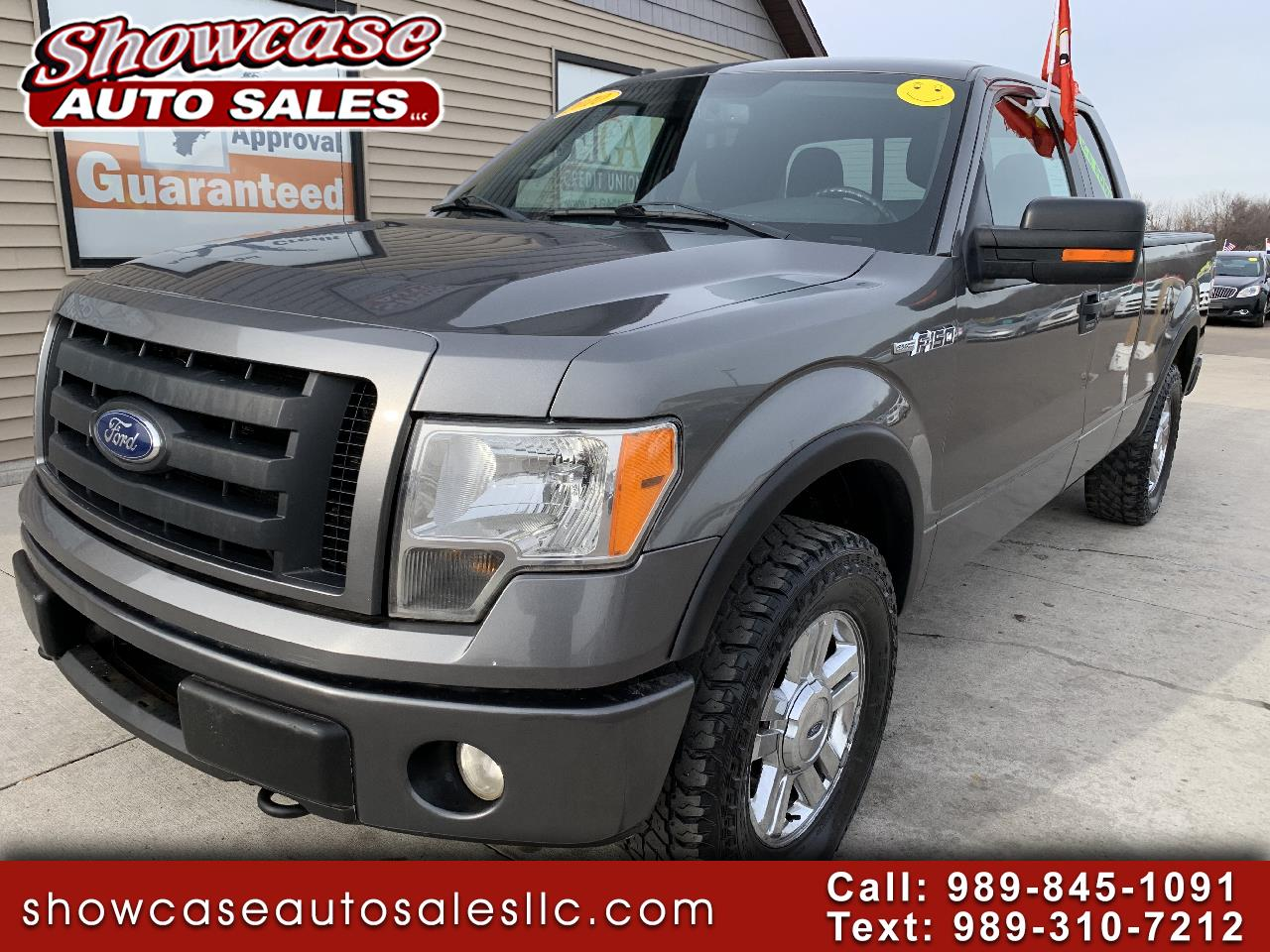 """Ford F-150 4WD SuperCab 145"""" FX4 2010"""