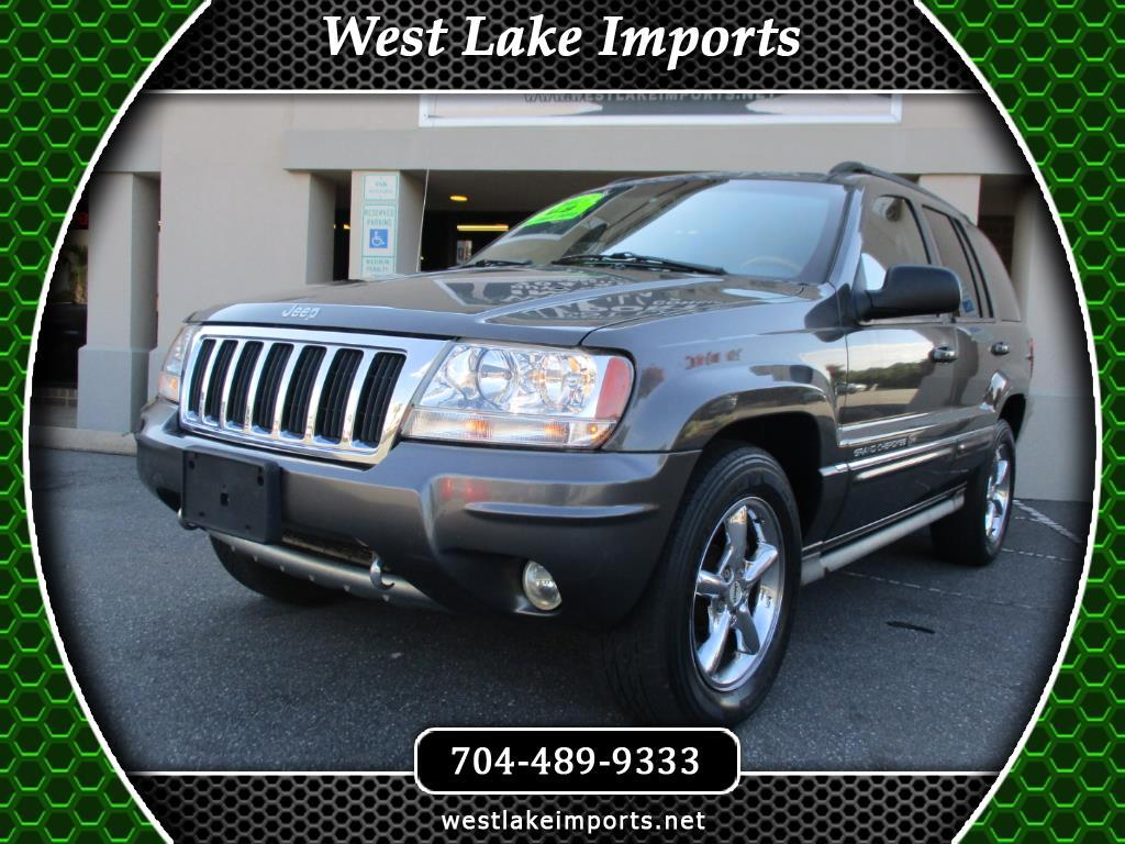 used 2004 jeep grand cherokee overland 4wd for sale in charlotte nc 28037 west lake imports. Black Bedroom Furniture Sets. Home Design Ideas