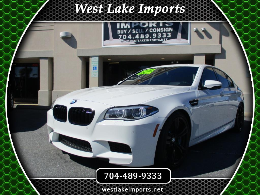 2015 BMW M5 Competition Package