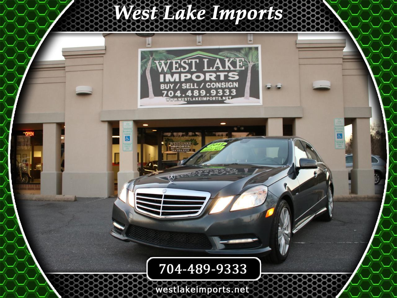 2012 Mercedes-Benz E350 Sport BlueTEC