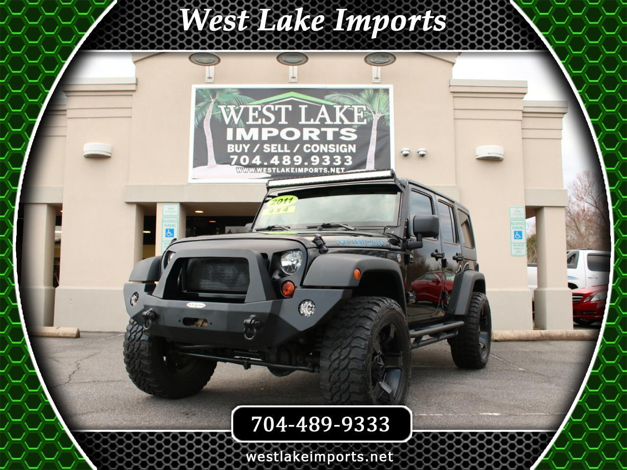 2011 Jeep Wrangler Unlimited Rubicon 4x4