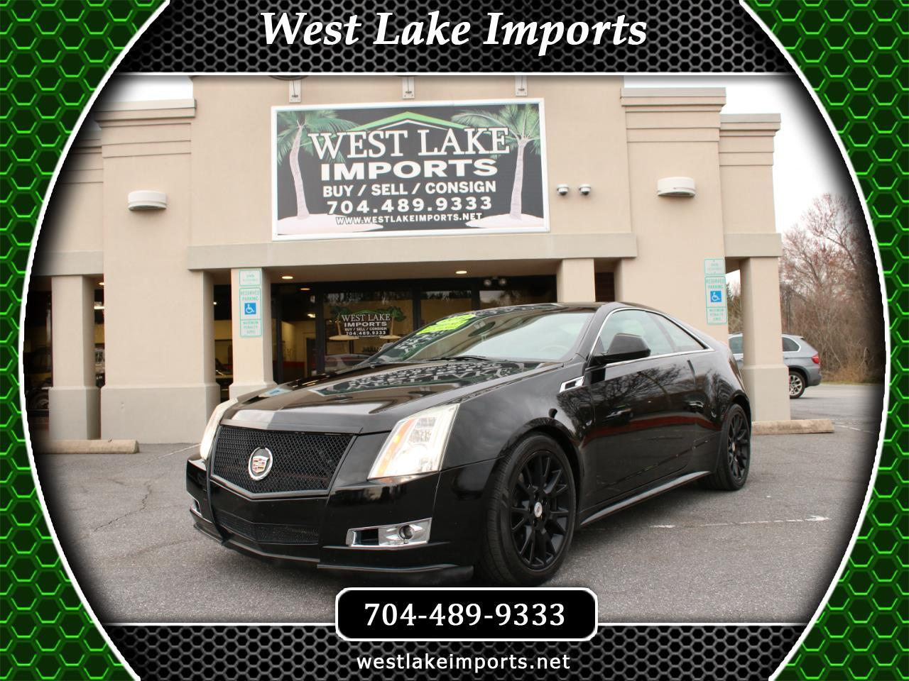 2012 Cadillac CTS Coupe 2dr Cpe Premium RWD