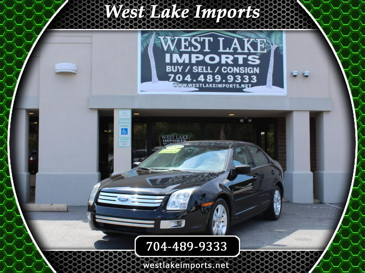 2007 Ford Fusion 4dr Sdn I4 SEL FWD