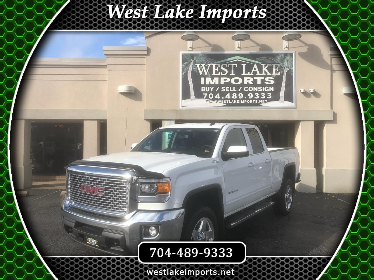 "GMC Sierra 2500HD 4WD Double Cab 144.2"" SLE 2015"