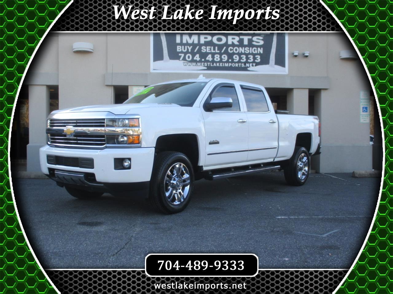 """Chevrolet Silverado 2500HD Built After Aug 14 4WD Crew Cab 153.7"""" High Country 2015"""