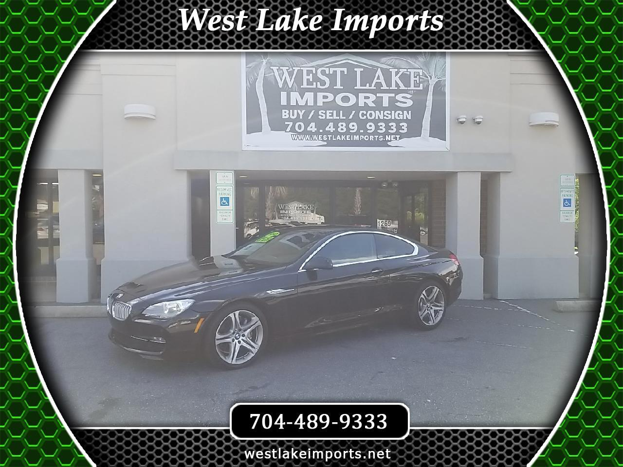 BMW 6 Series 2dr Cpe 650i 2012