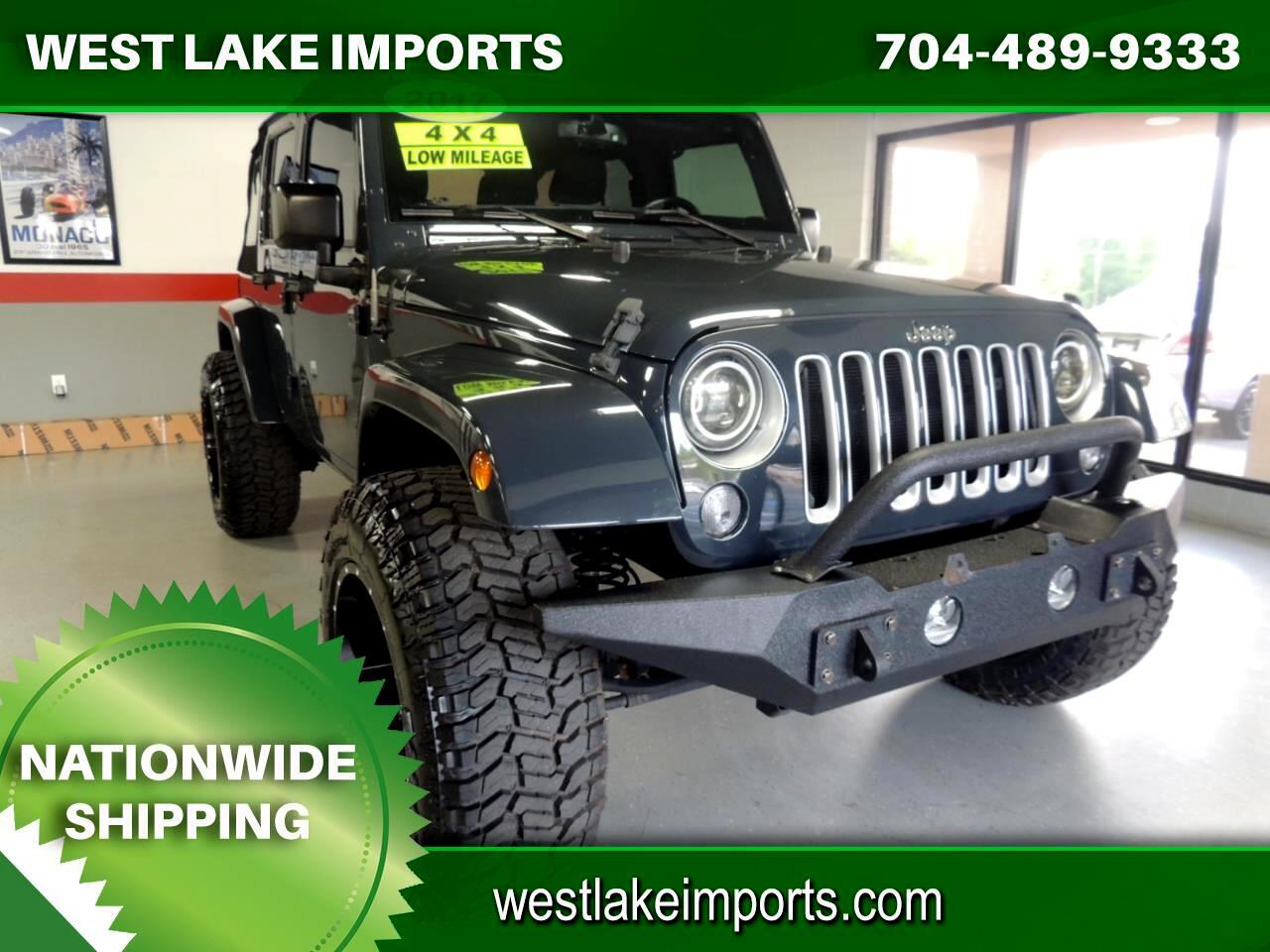 Jeep Wrangler Unlimited Sahara 4x4 2017