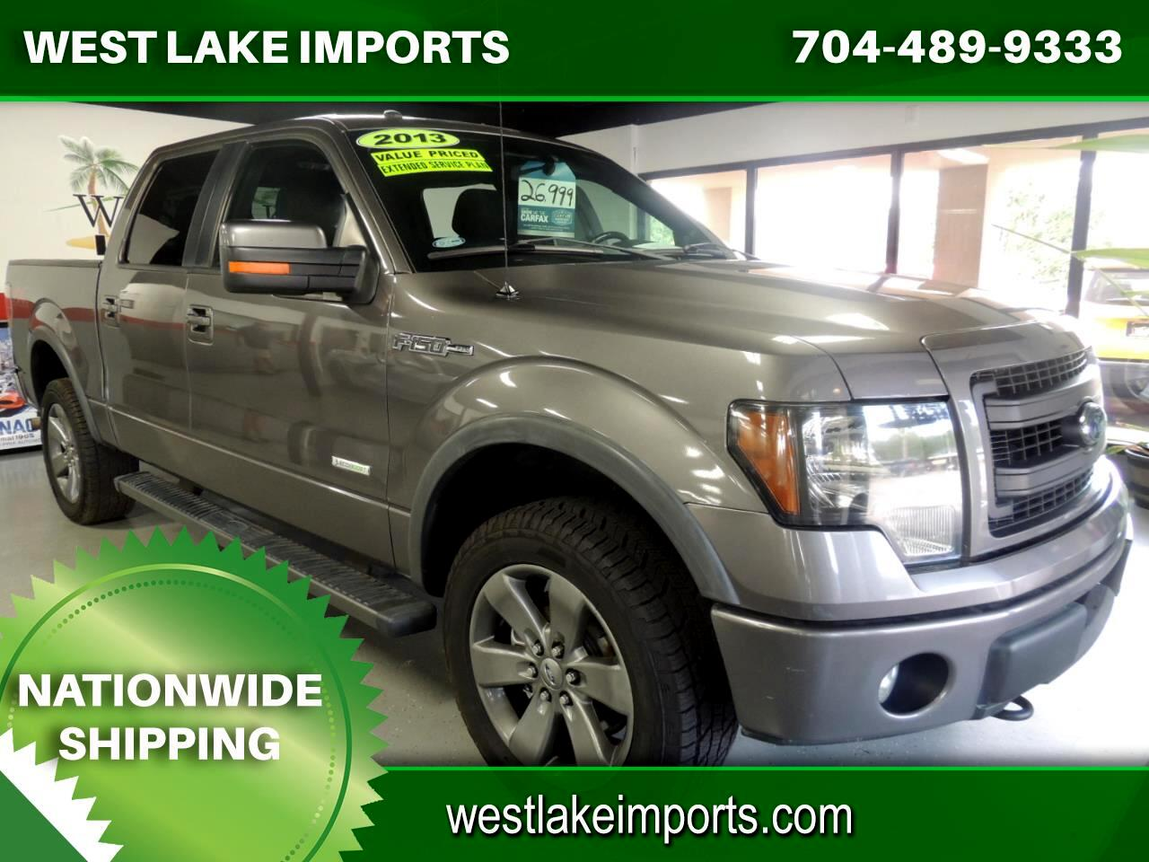 """Ford F-150 4WD SuperCrew 145"""" FX4 2013"""