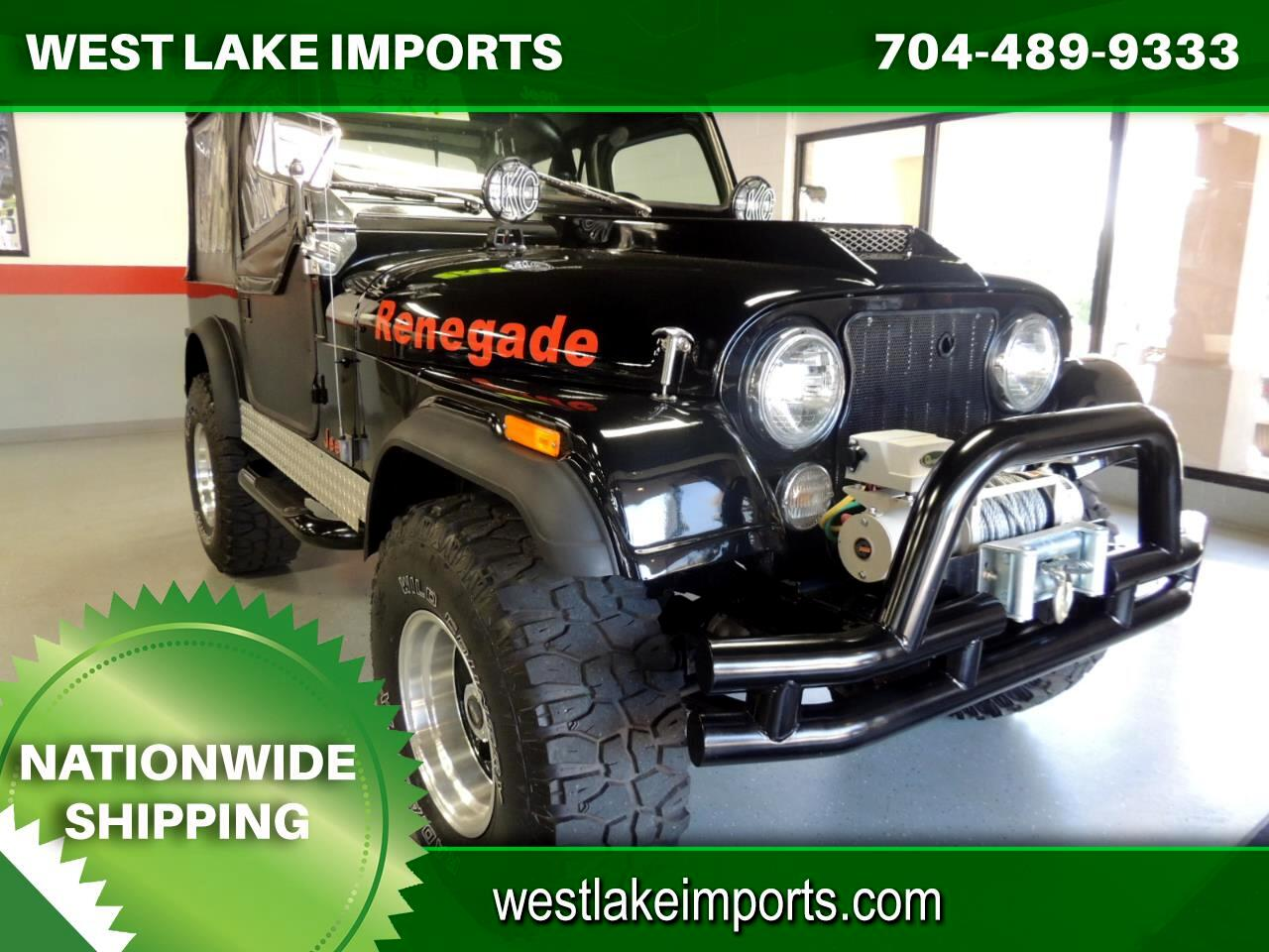 Jeep CJ 4WD 2dr Utility CJ7 1981