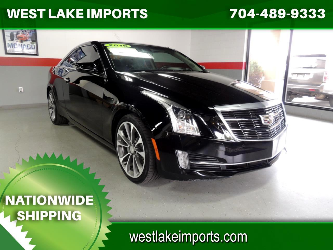 Cadillac ATS Coupe 2dr Cpe 3.6L Premium Collection AWD 2016