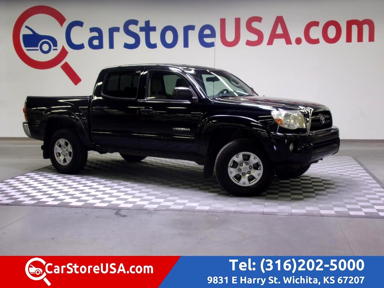 """2005 Toyota Tacoma Double 128"""" Auto 4WD (Natl)"""