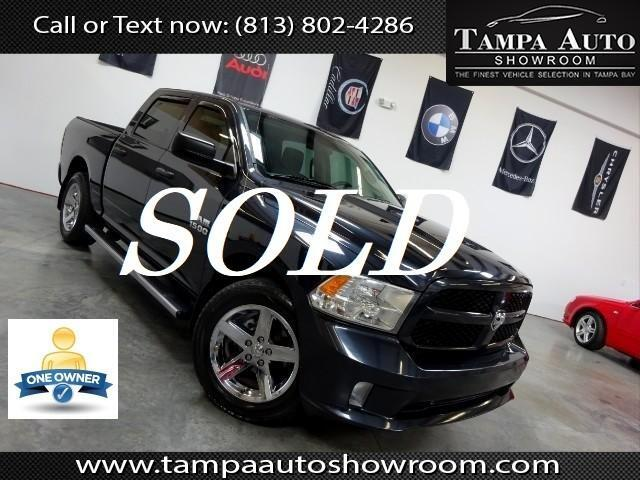 2013 RAM 1500 Express Crew Cab Tallahassee Edition