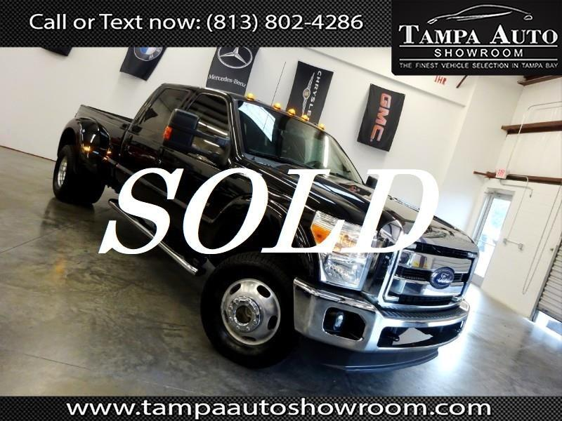 2012 Ford F-350 SD Lariat Crew Cab Long Bed 4WD DRW
