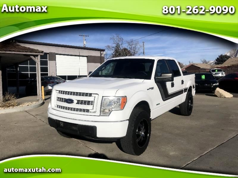 Ford F-150 XL SuperCrew 6.5-ft. Bed 4WD 2013