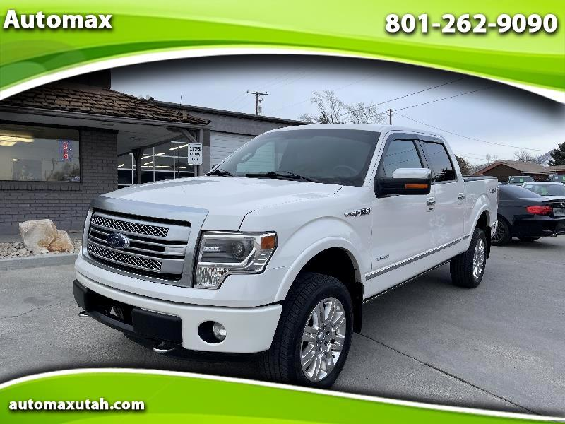 Ford F-150 Platinum 4WD SuperCrew 6.5' Box 2013