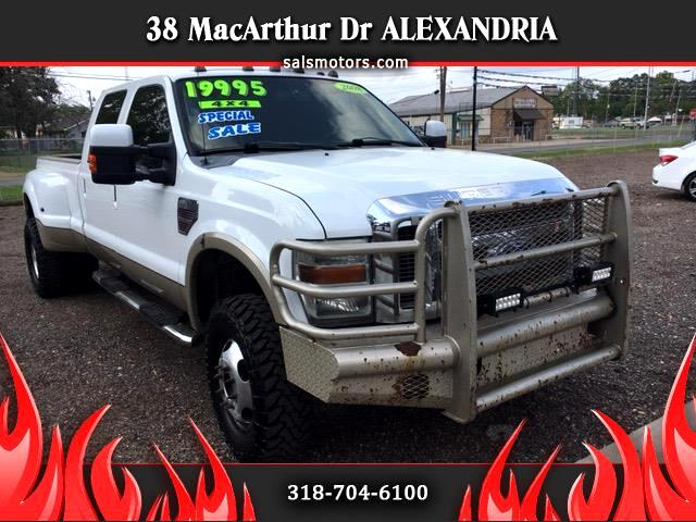 2008 Ford F-350 SD King Ranch Crew Cab 4WD DRW