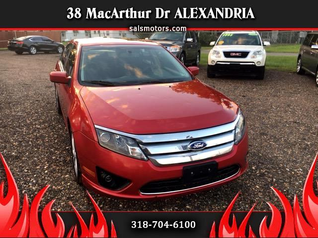 2012 Ford Fusion 4dr Sdn I4 SE