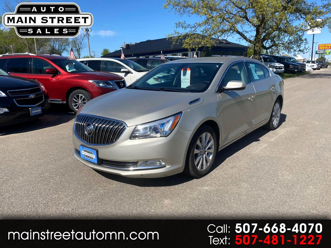 Buick LaCrosse 4dr Sdn Base FWD 2015