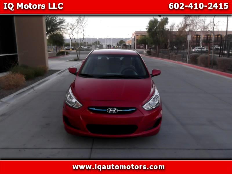 Hyundai Accent SE 4-Door 6A 2017