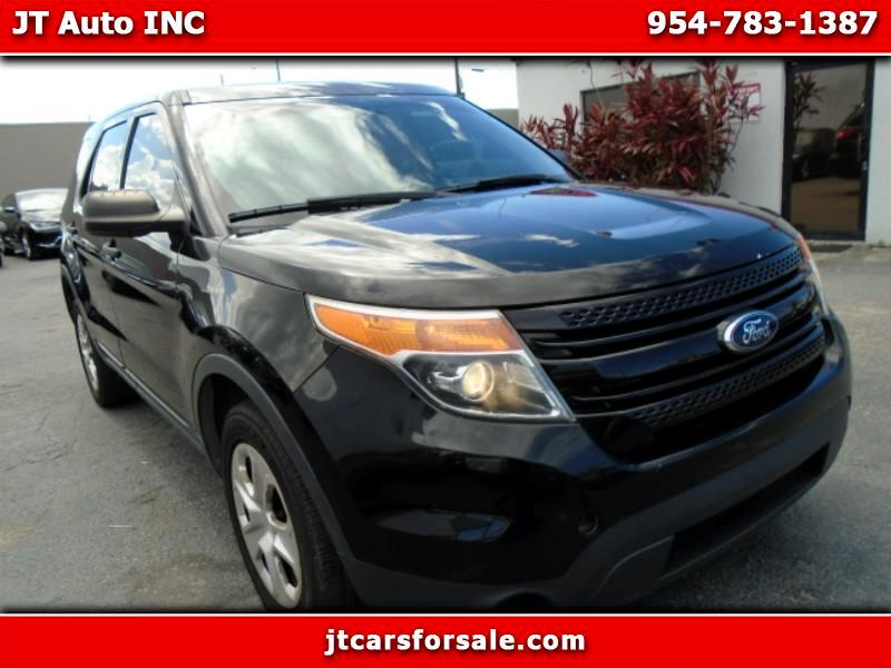 2013 Ford Explorer Police FWD
