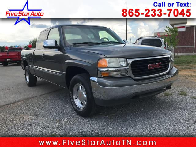 2000 GMC Sierra 1500 SLE Ext. Cab 4-Door Long Bed 4WD