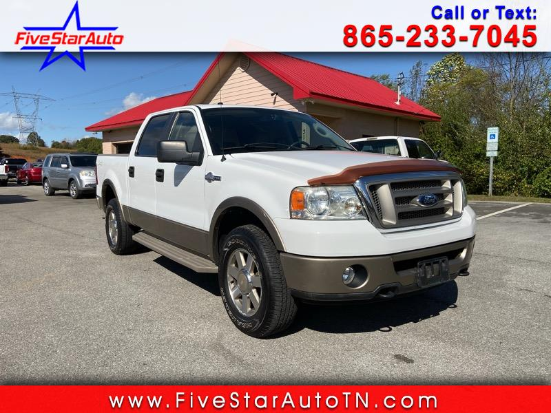 """Ford F-150 4WD SuperCrew 139"""" King Ranch 2006"""
