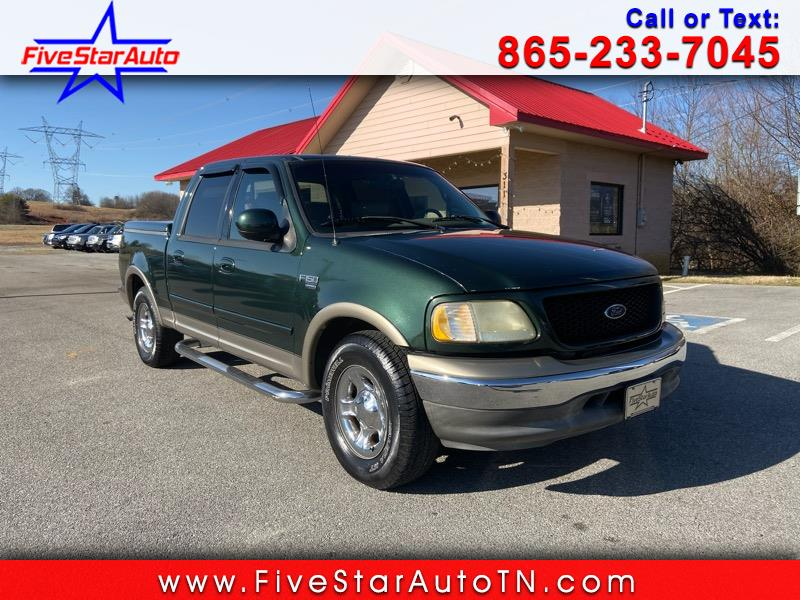 Ford F-150 Lariat SuperCrew Short Bed 2WD 2002