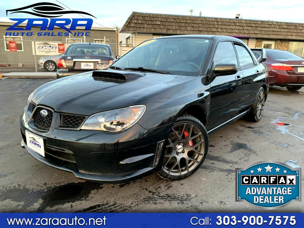 2006 Subaru Impreza Sedan 2.5 WRX TR Manual