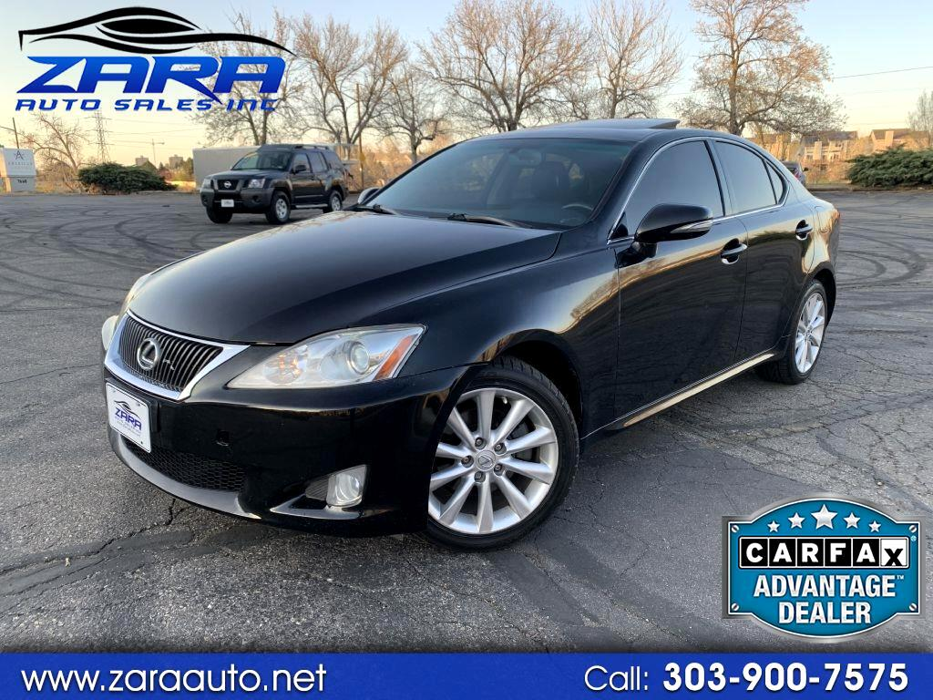 2010 Lexus IS 250 4dr Sport Sdn Auto AWD