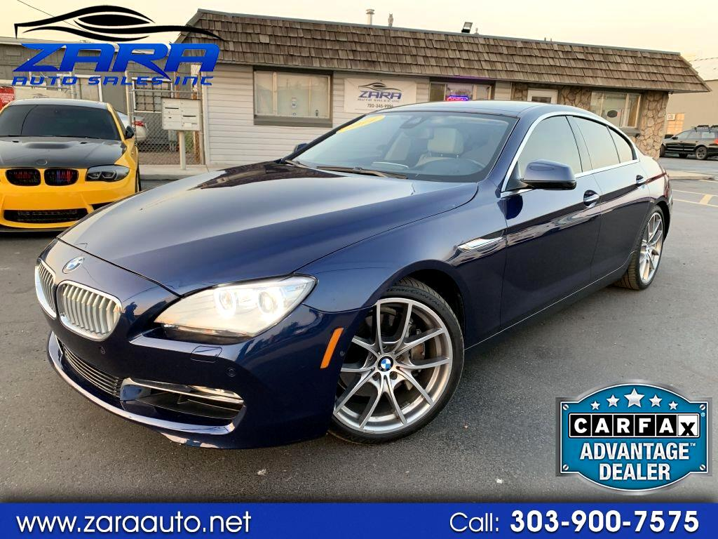 2014 BMW 6 Series 4dr Sdn 650i xDrive AWD Gran Coupe