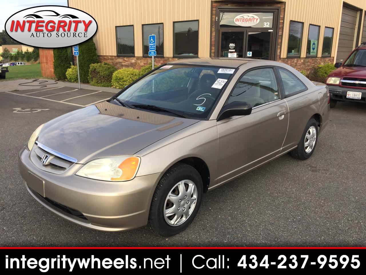 2002 Honda Civic LX coupe