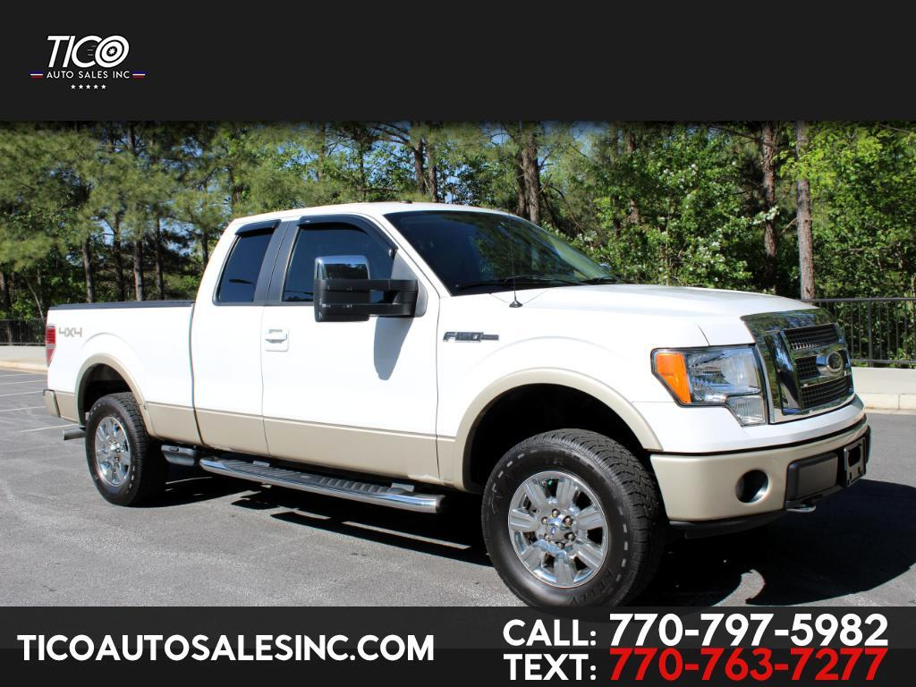 "2009 Ford F-150 4WD SuperCab 145"" Lariat"