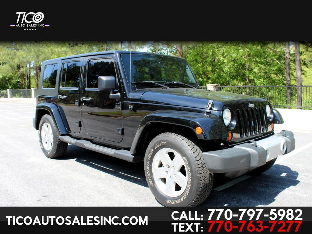 2009 Jeep Wrangler Unlimited RWD 4dr Sahara