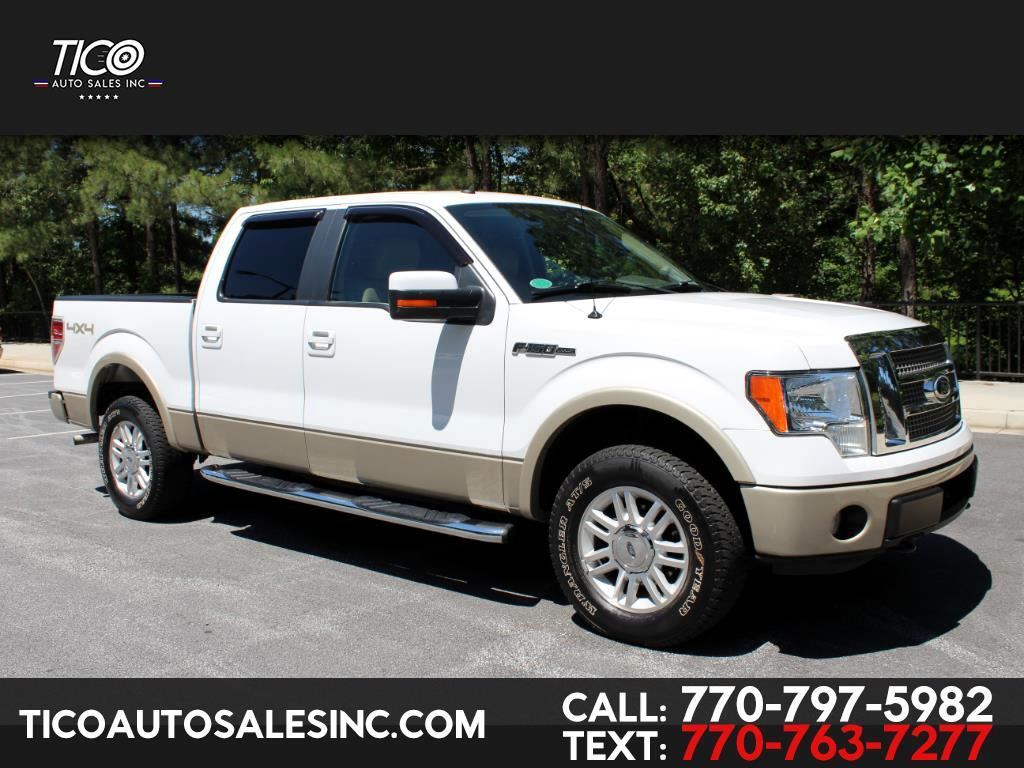 "2009 Ford F-150 4WD SuperCrew 145"" Lariat"