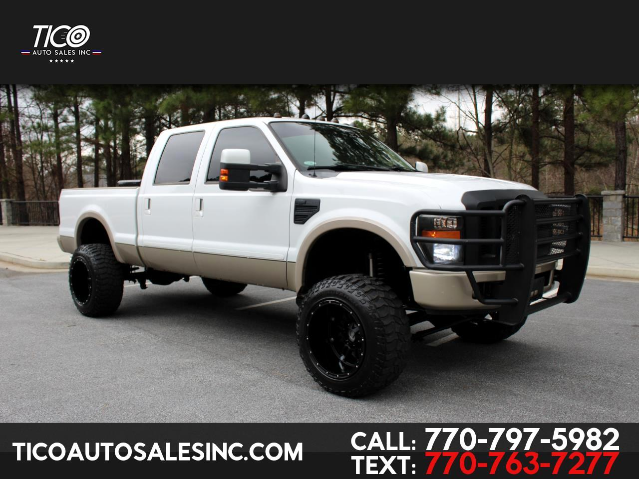 "2010 Ford Super Duty F-250 SRW 4WD Crew Cab 156"" King Ranch"