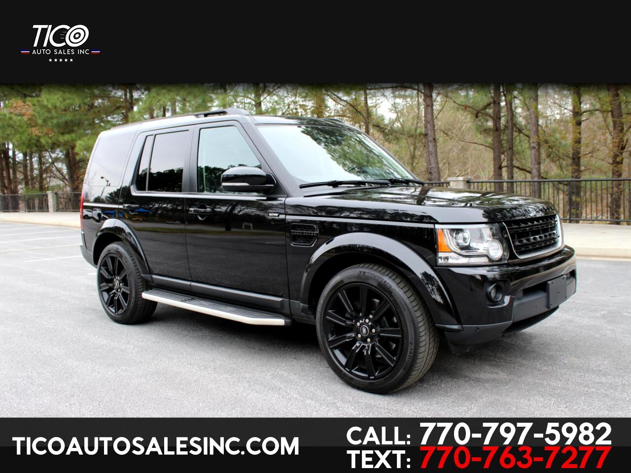 2015 Land Rover LR4 4WD 4dr HSE
