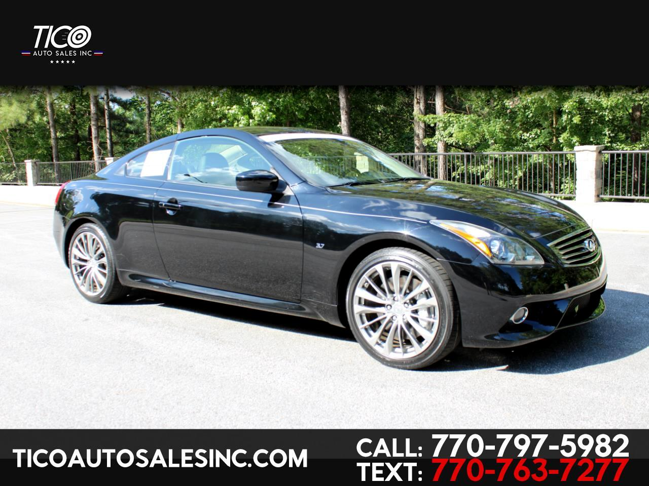 2015 Infiniti Q60 Coupe 2dr Auto Journey RWD