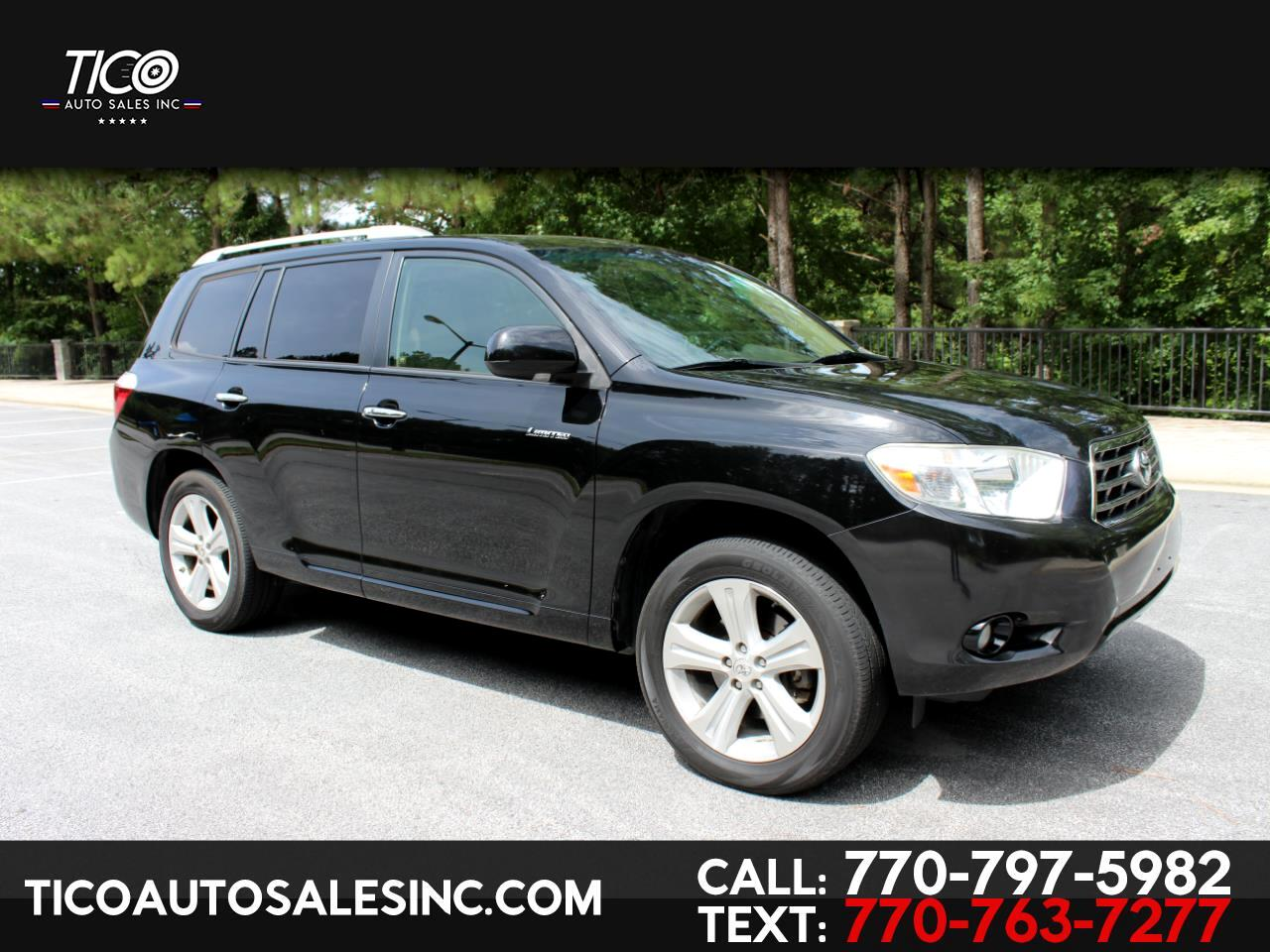 2010 Toyota Highlander 4WD 4dr V6  Limited (Natl)