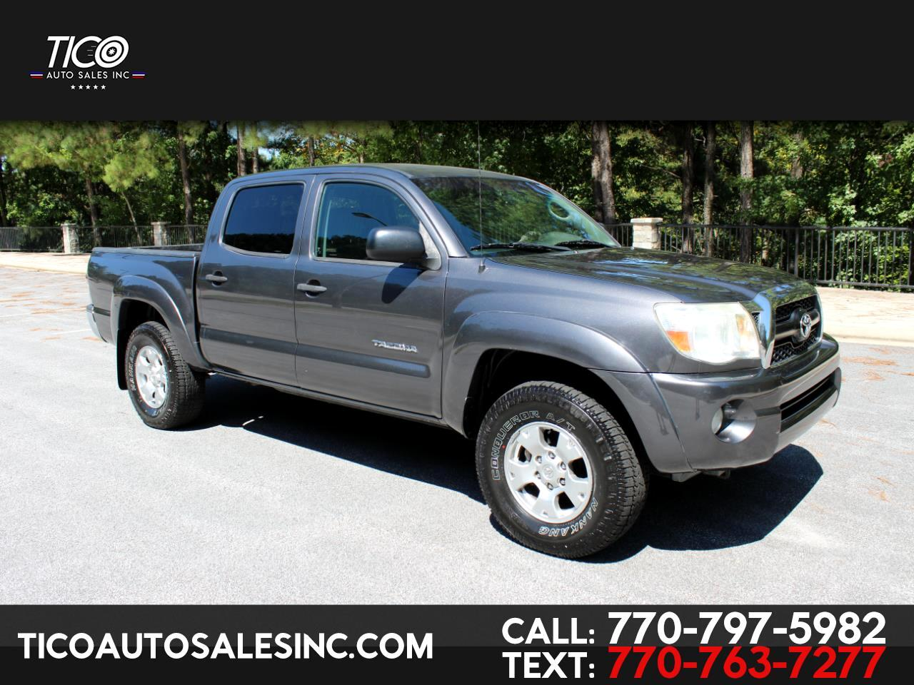 Toyota Tacoma 2WD Double V6 AT PreRunner (Natl) 2011