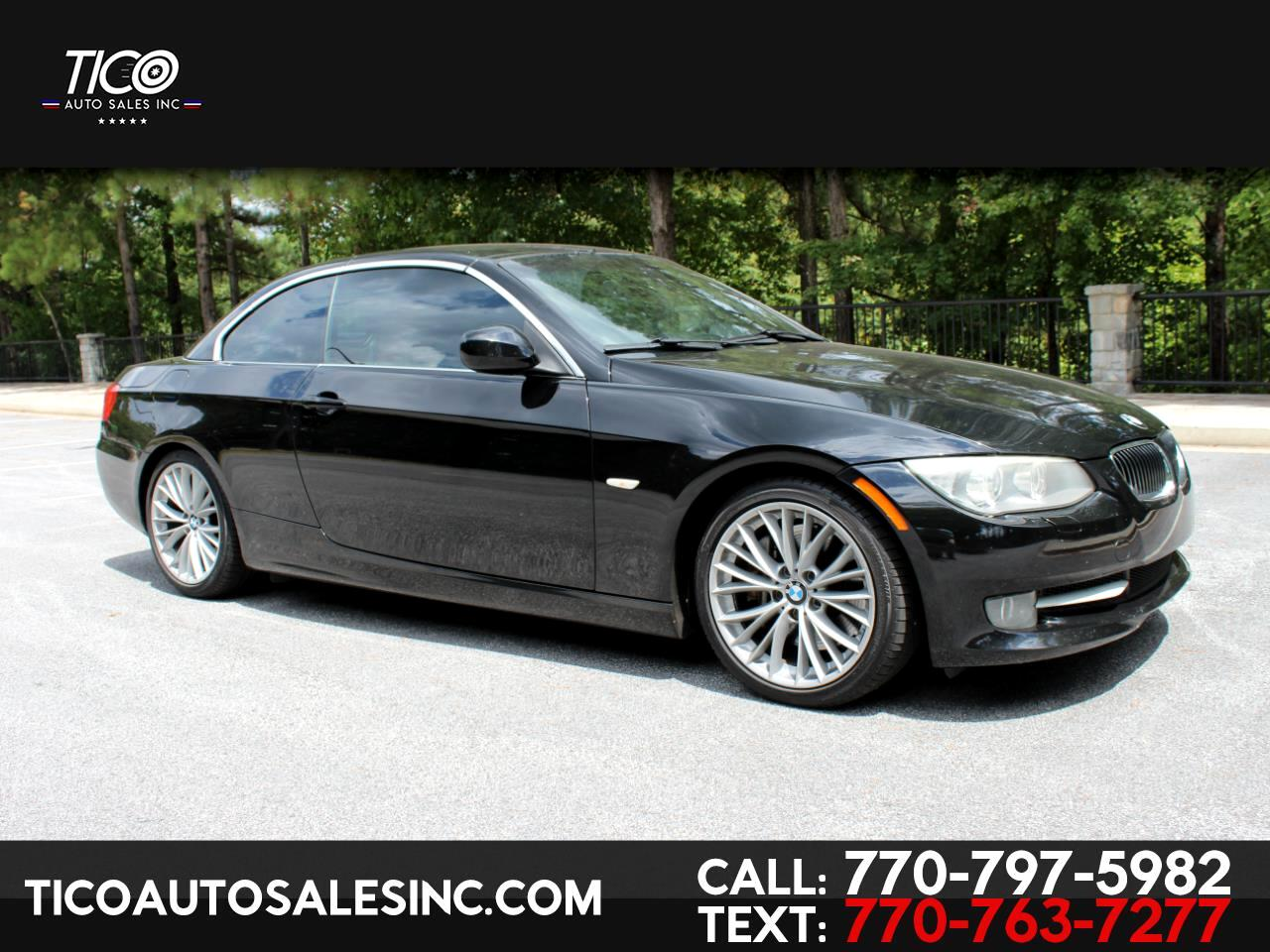 BMW 3 Series 2dr Conv 335i 2011